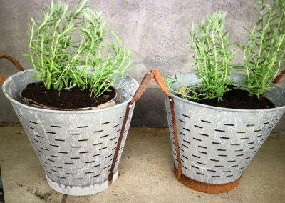 Vintage Olive Buckets $95.00