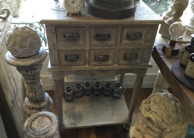 6 Drawer Bedside Table $695
