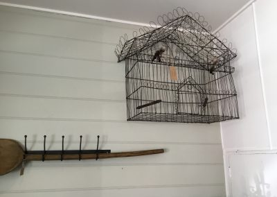 Handwoven Wire Bird Cage $495