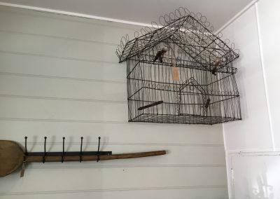 Handwoven Wire Bird Cage $495