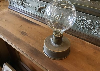 Globe with Copper Wired Light $26.95