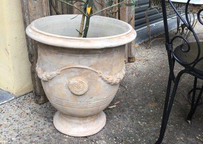 Aged Terracotta Anduz Urns