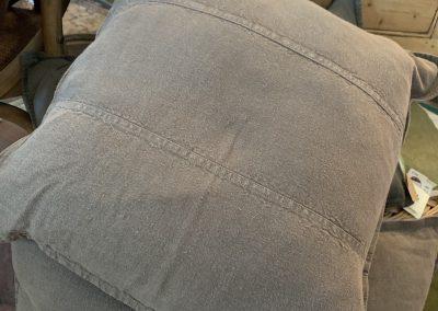 Luca Linen Cushion Slate $119.95