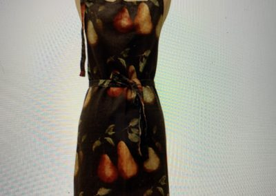 French Linen Pear design Apron $79.90