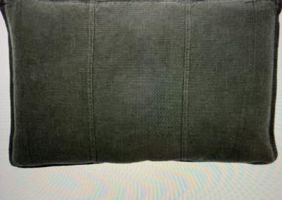 Luca Lumber Cushion Slate $89.95
