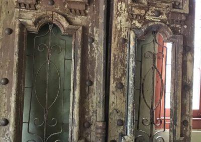 Antique Iron and Timber Doors $2595