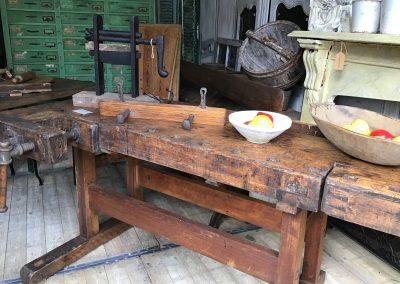 Antique European Timber Workbench $2695